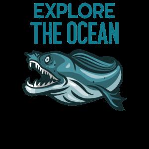 Erkunden Sie den Ozean - Unterwasser-Meer-Ozean