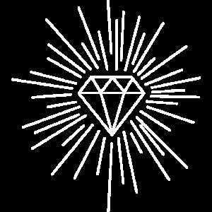 Diamant Scheinen Funkeln