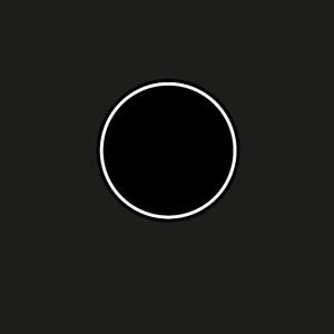 Schwarz Weißer Kreis