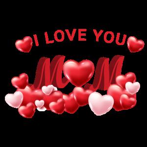 Ich liebe Mama.