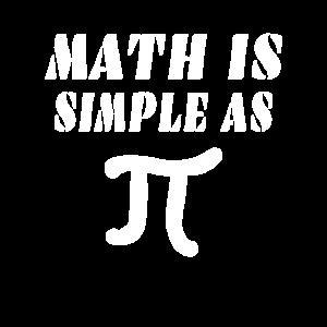 MATH Math is simple as Pi