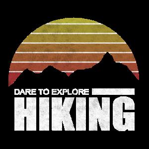 Dare To Explore Hiking Wander Shirt