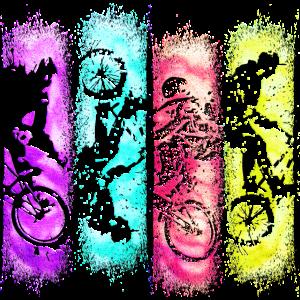 BMX bunt | Bmx farbenfroh | bmx farbenfreudig