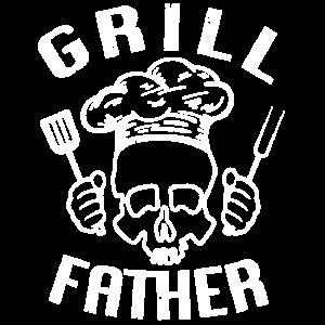 Grill Father Totenkopf - Barbecue Grillen