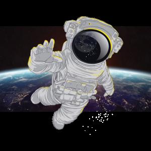 Astronaut im All