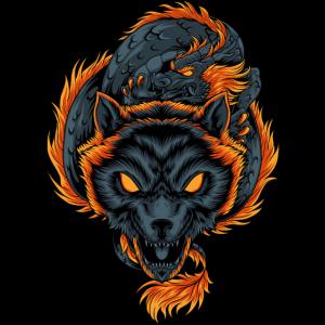 Wolfsdrache
