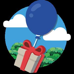 AC New Horizons | Geschenk Ballon
