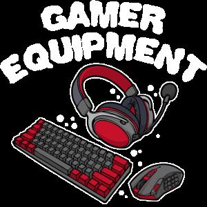 Pc Spieler Gamer Headset Keyboard