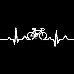 heartbeat cyclist bike cycling