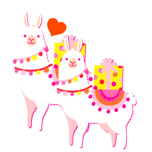 Lamas im Doppelpack