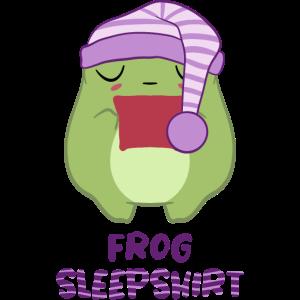Frosch Schlafshirt pyjama