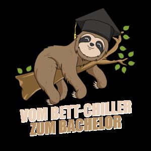 Bett-Chiller zum Bachelor 2021 Abschluss Spruch