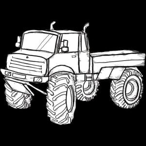 Geländewagen Lkw Offroadfahrzeug