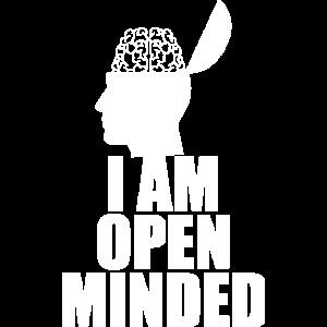 Open Minded Offen für Neues Statement Geschenk