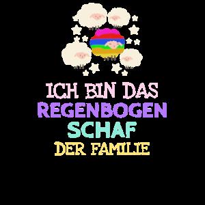 Regenbogen Schaf der Familie - Homosexuell Schwul