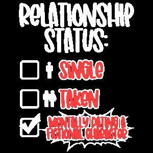Beziehungsstatus Dating Ein fiktiver Charakter