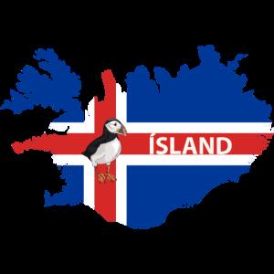 Ísland - Iceland - Island - Papageientaucher