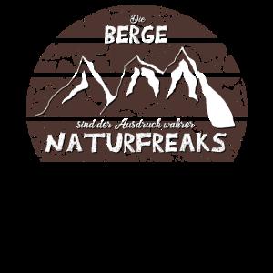 Berge Bergsteiger Wanderer Natur Freak