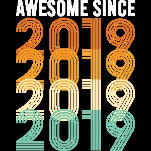 Vintage 2019 Geburtstag Geburtsjahr Retro Vintage