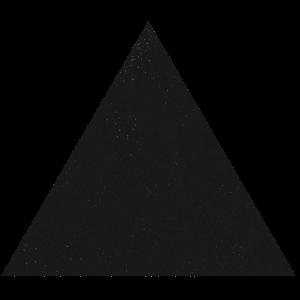 Dreieck schwarz geometrisches Design Sterne