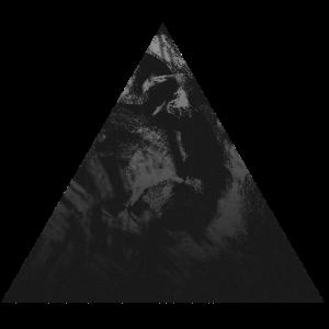Dreieck schwarz Marmor Design