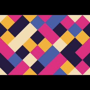 cool squares pattern