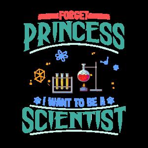 Wissenschaft Geschenk vergessen Prinzessin wollen Wissenschaftler sein