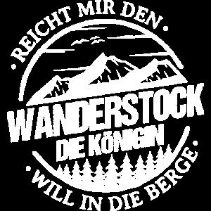 Reicht Mir Den Wanderstock Königin Berge