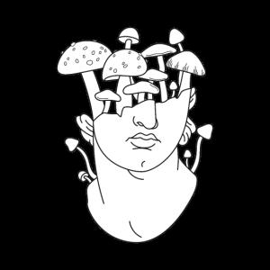 Goblincore Aesthetics Design für Mushroom Forager