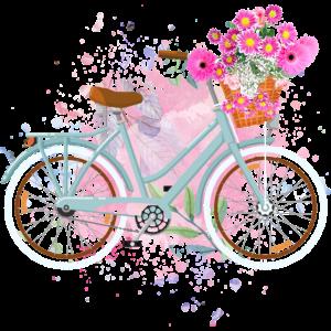 Floral Blumen Damen-Rad Fahrrad Damen
