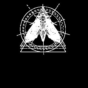 Motte Mondphasen Geometrisch