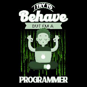 Computerfreak Softwareentwickler Programmierer