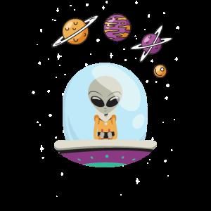 UFO und Planeten