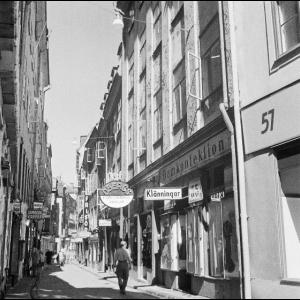 Gamla Stan Stockholm 1947