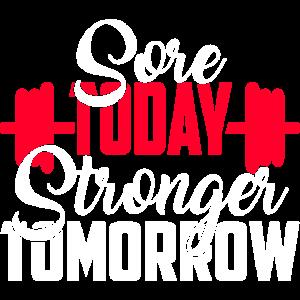 Sore heute Stärker morgen