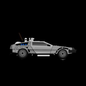 Delorean Car Marty 2020 Back to the Future