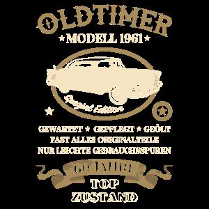 60. Geburtstag 60 Jahre Oldtimer Modell 1961