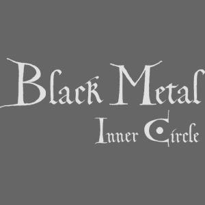 Black Metal Inner Circle, white