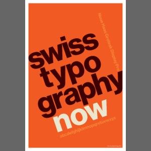 Swiss Typography Poster