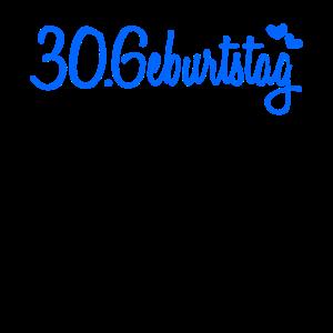 30 Geburtstag Gästebuch Deko Geschenk