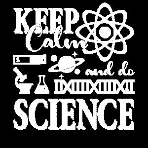 Wissenschaft bleibt ruhig und tut Wissenschaft