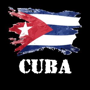 cuba flag cuban distressed shirt