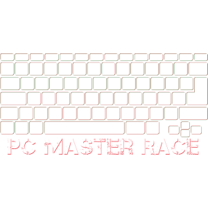 Glorious PC Master Race WASD Gaming Videospiele