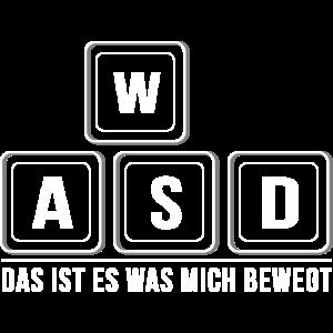 Glorious PC Master Race WASD Gamer Zocken Geschenk