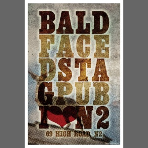 Bald Faced Stag Poster