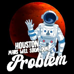 Mars Astronauten Weltraum Raumfahrt