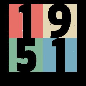 70. Geburtstag 70 Jahre Jahrgang 1951