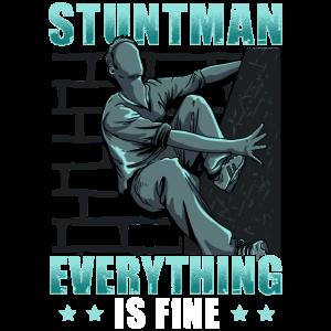 Stuntman Stunt Film Stunts Schauspieler Geschenk