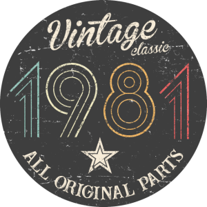 1981 vintage