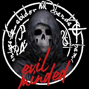 Grim Reaper Pentagram Totenkopf